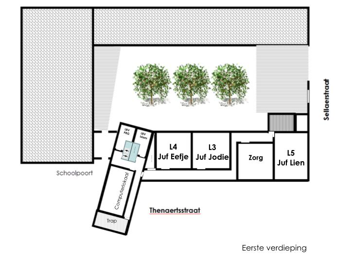 Tilia eerste verdieping